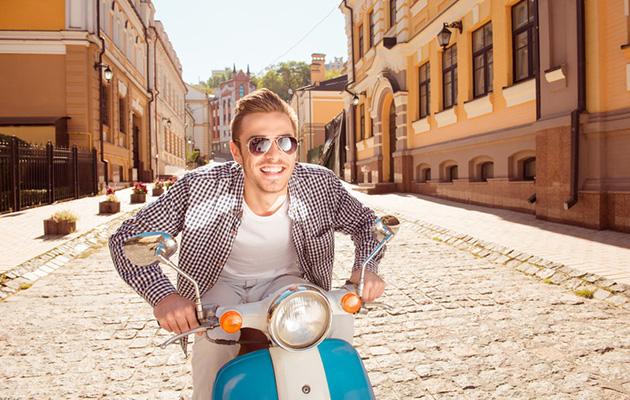 バイクで出掛けよう